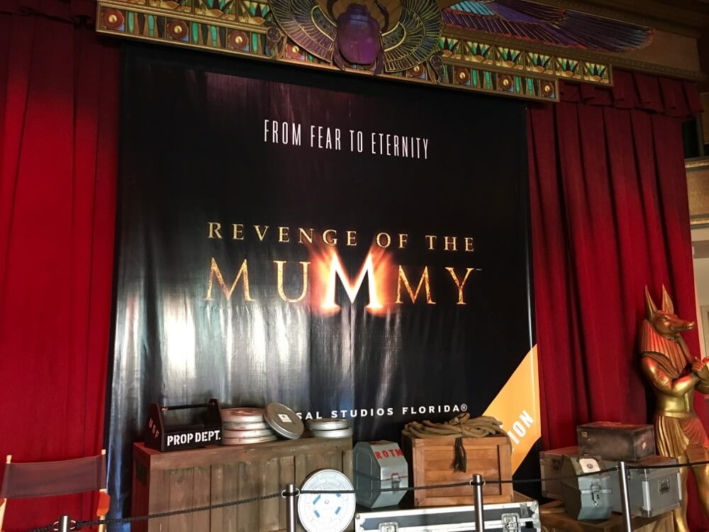 Overcoming Motion Sickness at Universal Orlando - Revenge of the Mummy