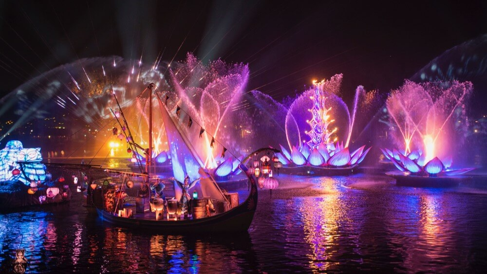 Fastpass+ for Shows at Disney World - Rivers of Light