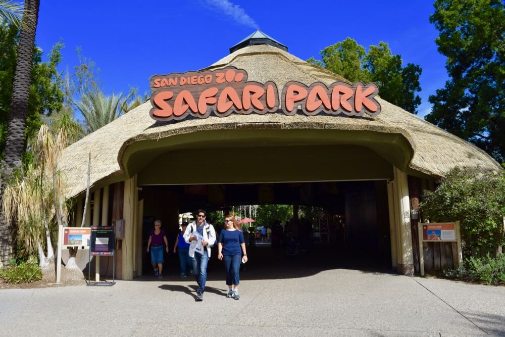 San Diego Zoo Safari Park Tips - Main Entrance