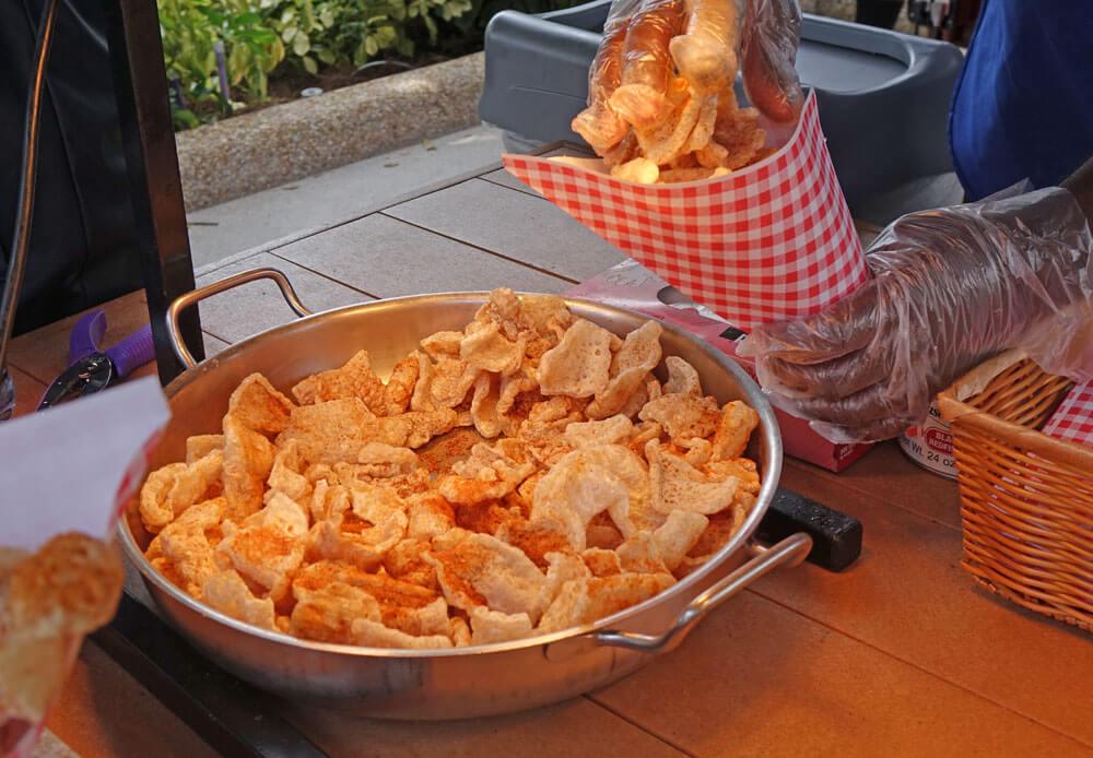 SeaWorld Orlando Seven Seas Food Festival - Crackling Pork Rinds