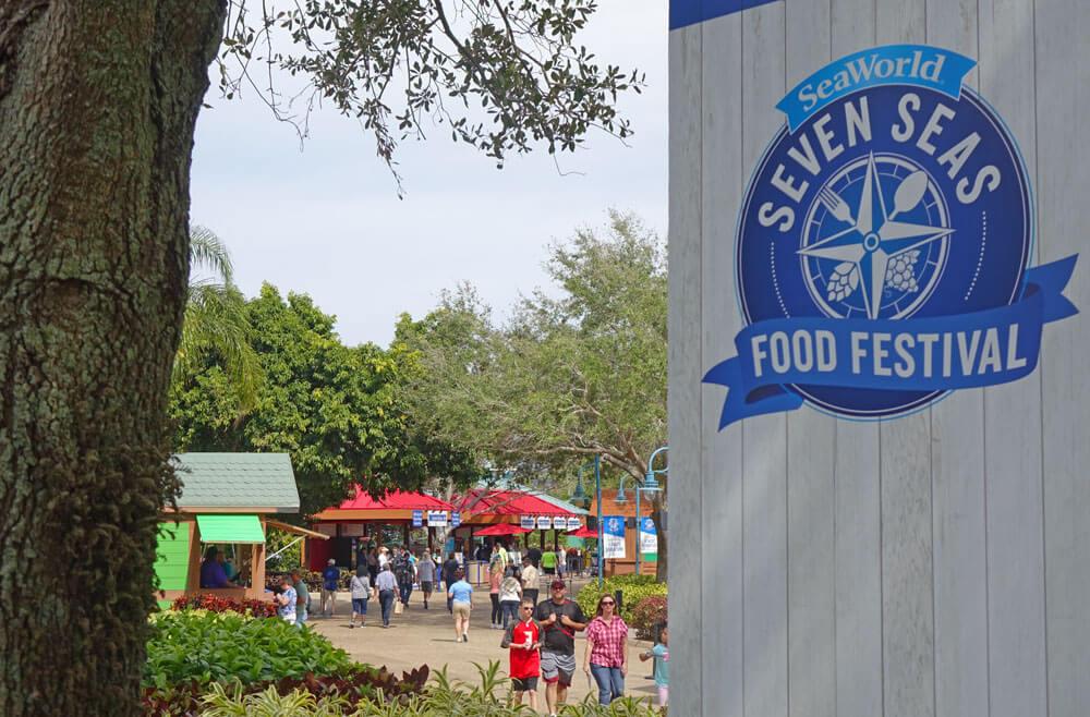SeaWorld Orlando Seven Seas Food Festival Scene