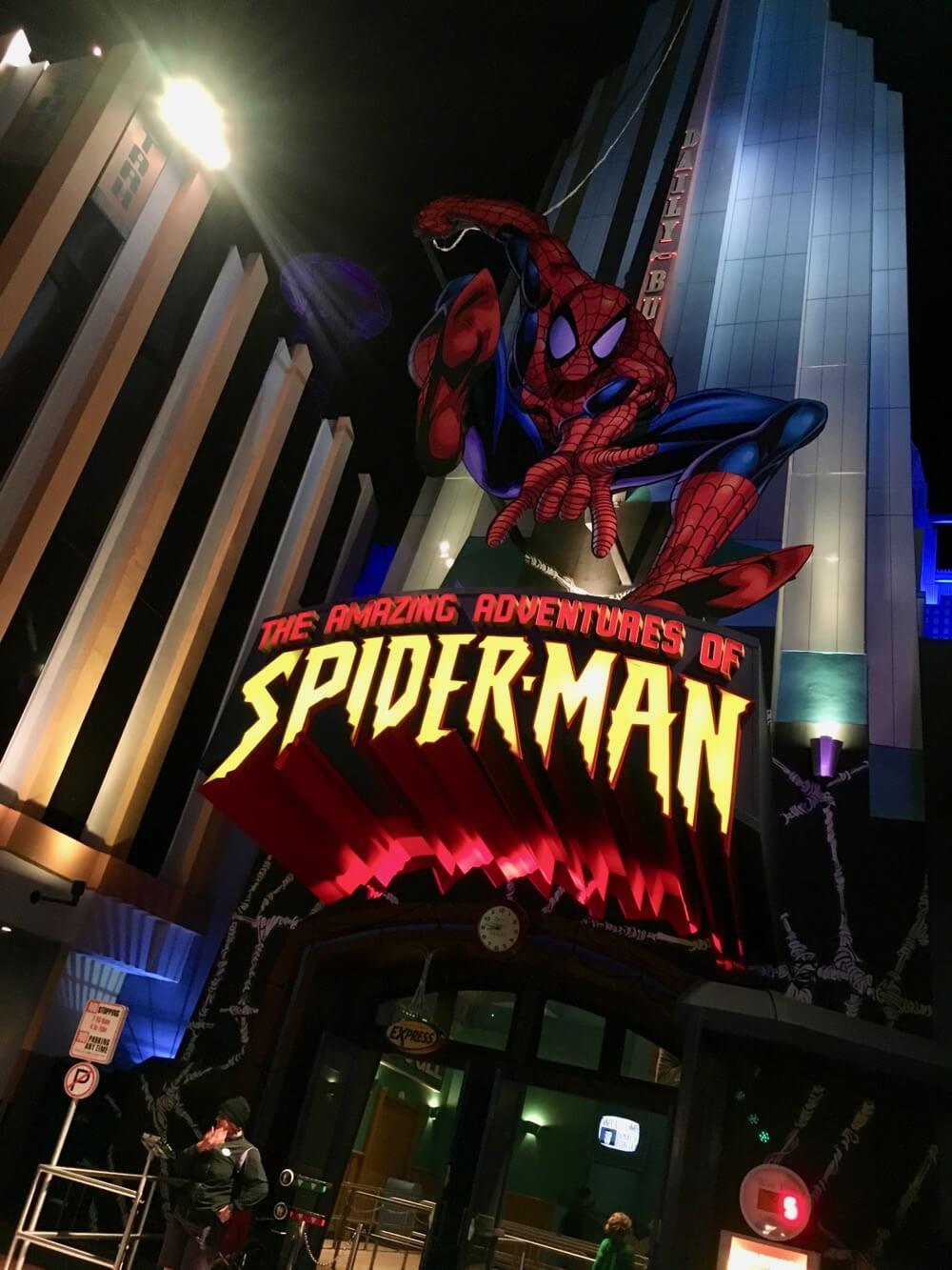 Overcoming Motion Sickness at Universal Orlando - Spider-Man