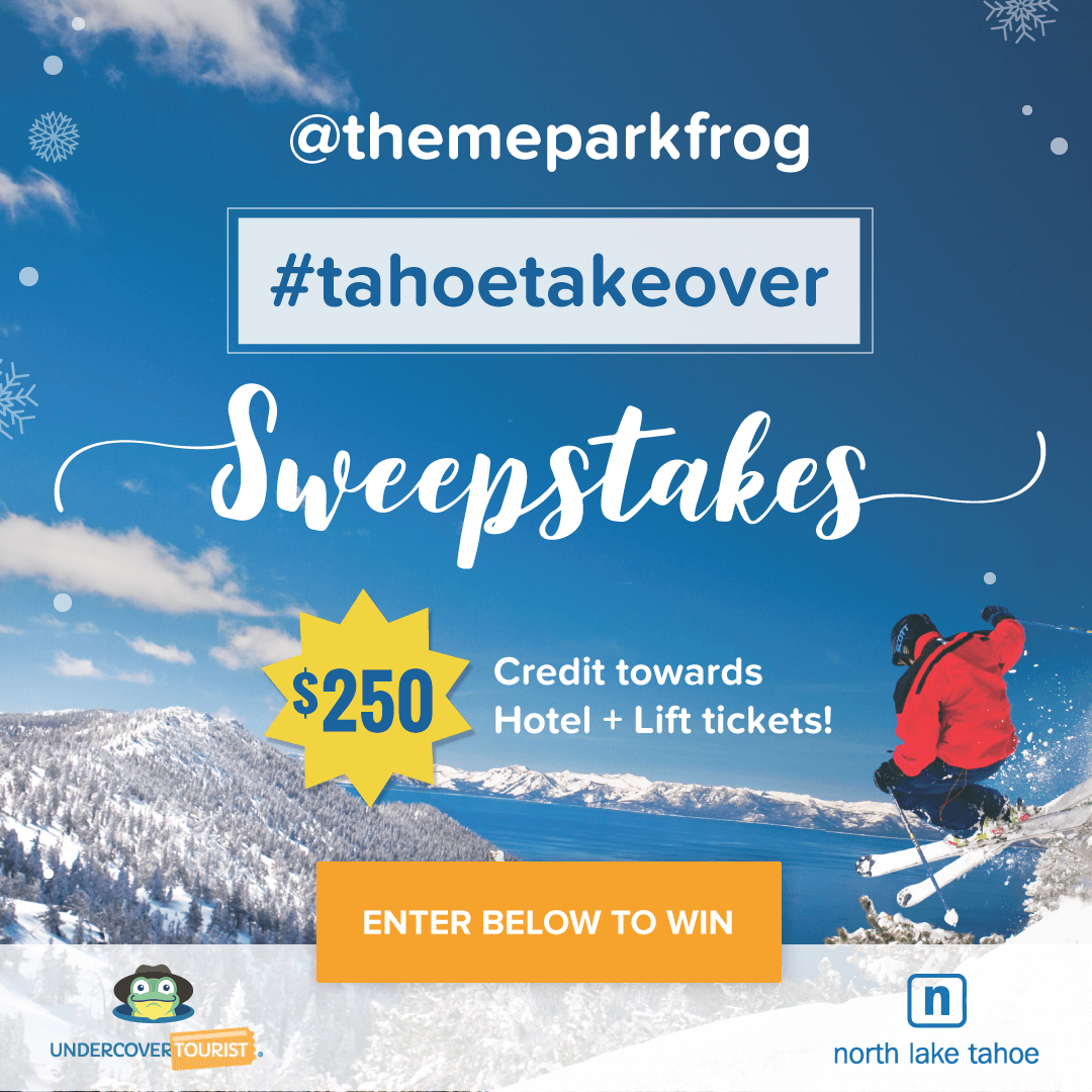 Undercover Tourist's '#TahoeTakeover' Sweepstakes Terms & Conditions