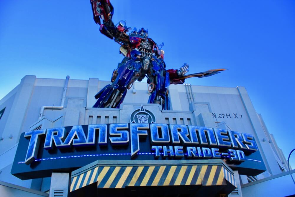 Overcoming Motion Sickness at Universal Orlando - Transformers The Ride