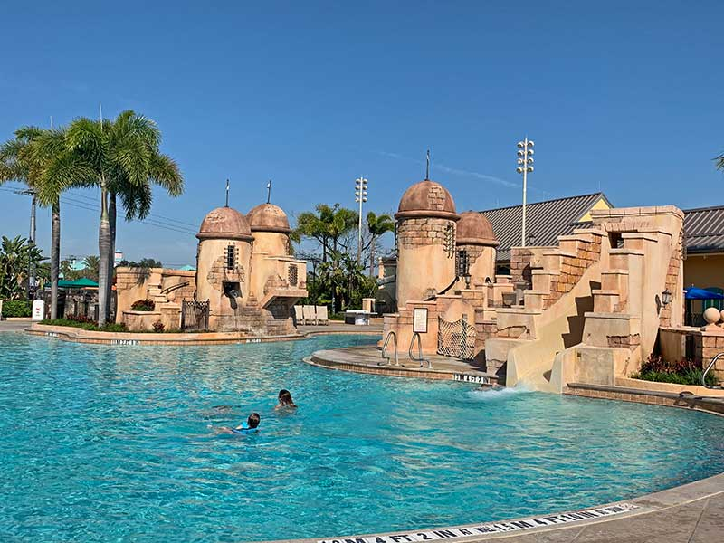 Best Moderate Disney Resort - Fuentes del Morro Pool
