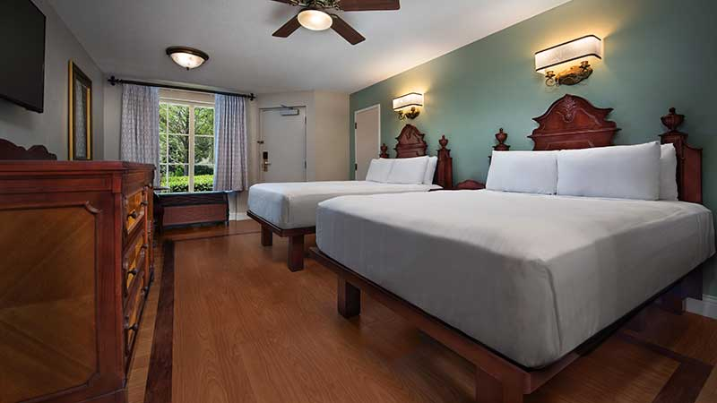 Best Moderate Disney Resort - Port Orleans Room