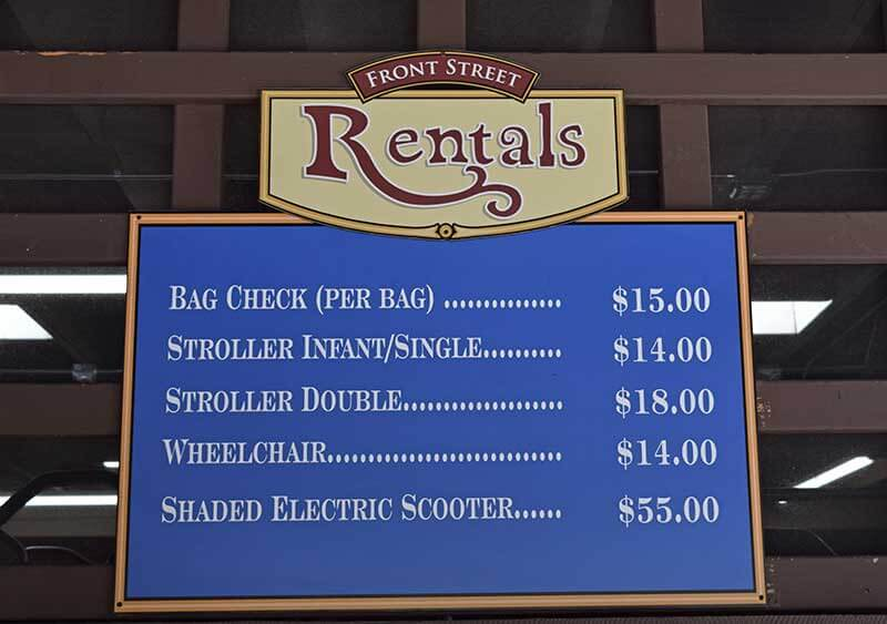 San Diego Zoo Tips - Rent a Stroller