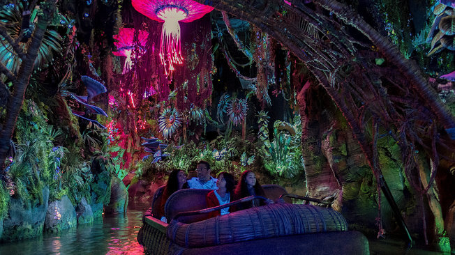 Extra Magic Hours at Pandora - Navi River Journey