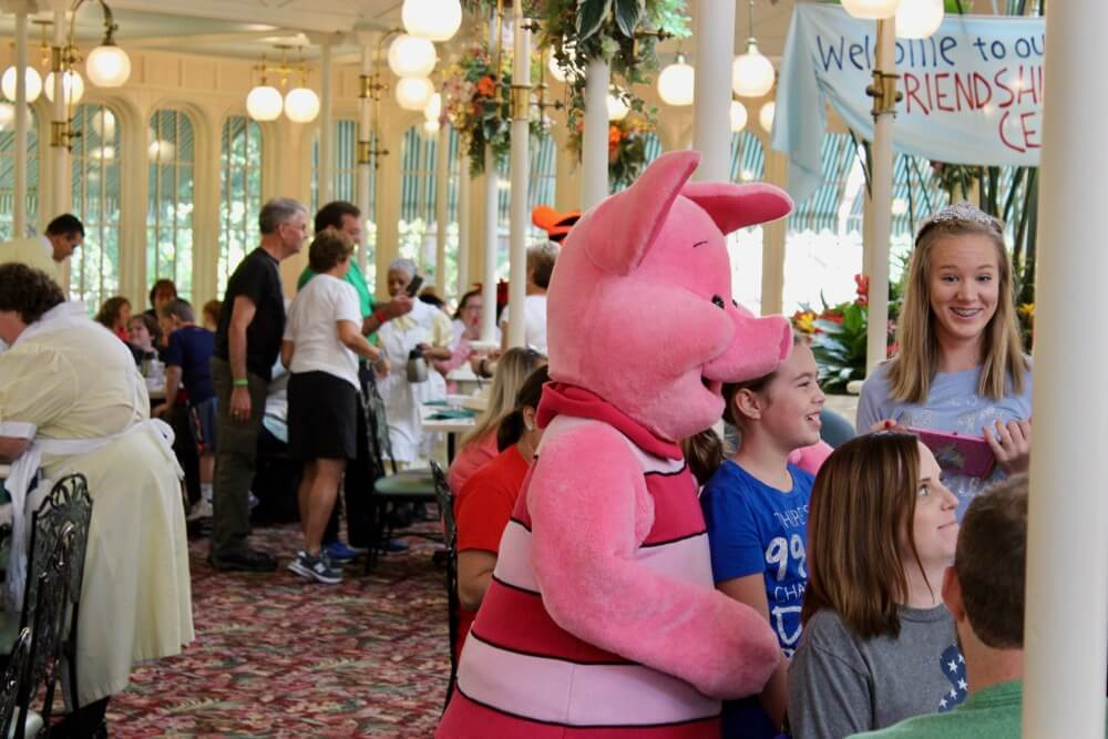 Terrific disney world character meeting tips disney world character meeting tips piglet at crystal palace character breakfast m4hsunfo