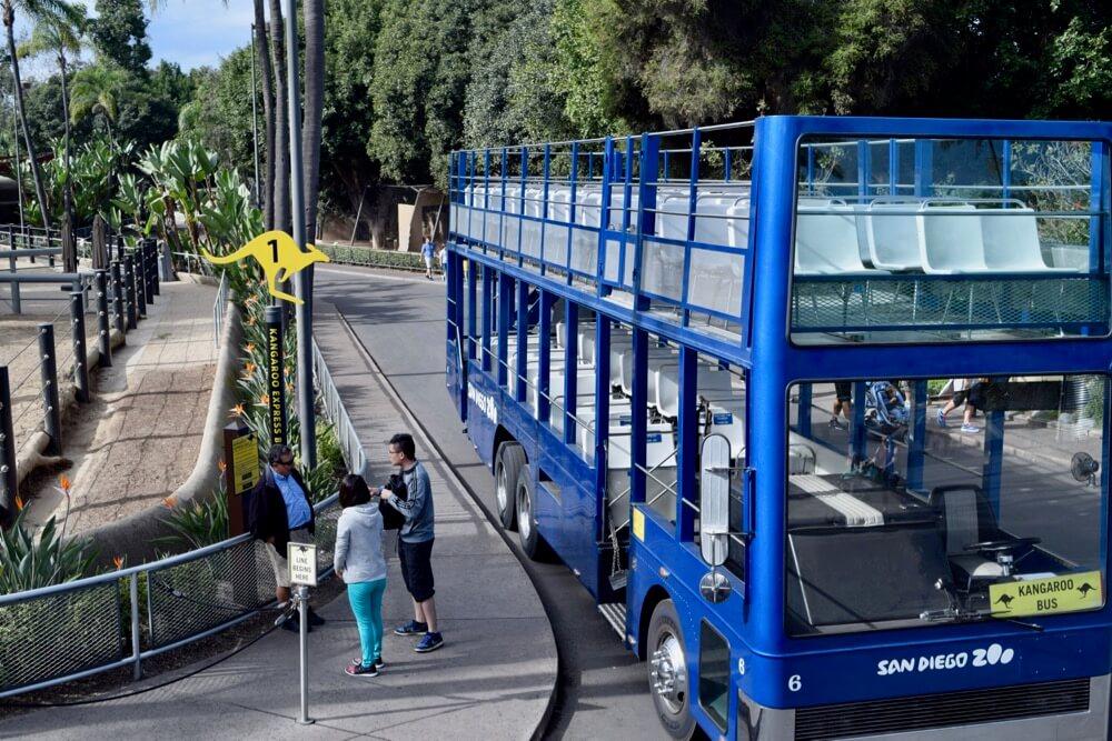 San Diego Zoo Tips - Kangaroo Bus