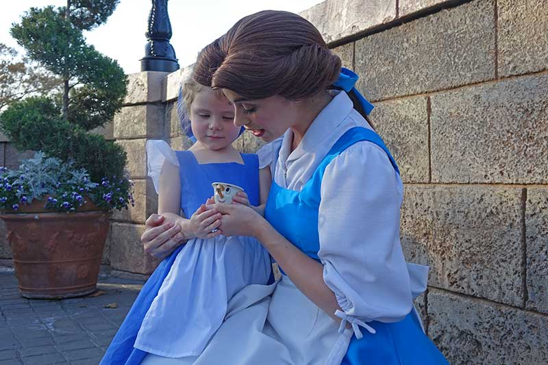 Everything You Need to Know About Disney World Characters - Belle at Epcot
