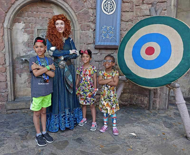 Everything You Need to Know About Disney World Characters - Merida