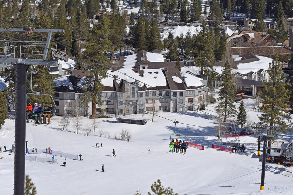 North Lake Tahoe Ski Resorts Family Guide - North Star Ski Resort Lift