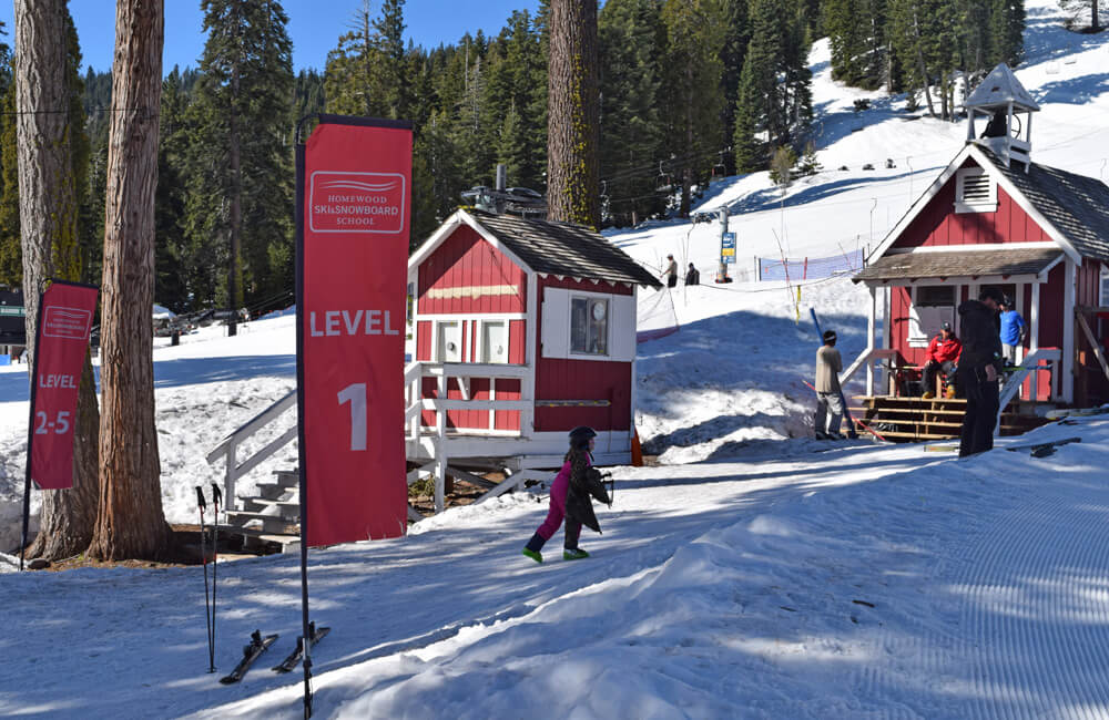 North Lake Tahoe Ski Resorts for Families - Homewood Ski School