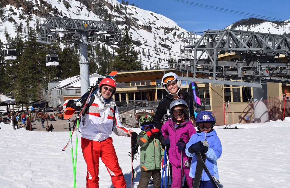 North Lake Tahoe Ski Resorts - Squaw Valley Family