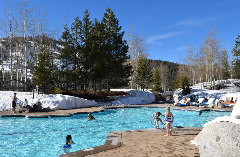 North Lake Tahoe Ski Resorts for Families - Resort at Squaw Creek Pool