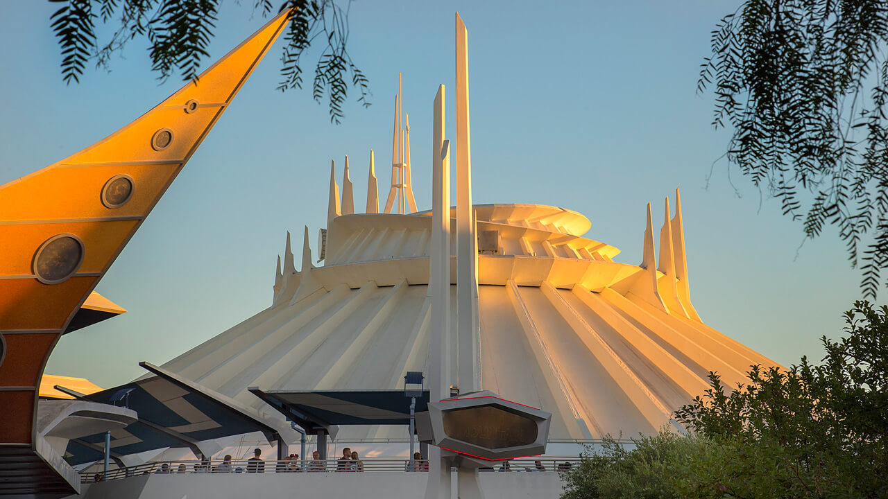 Classic Space Mountain Is Set to Return to Disneyland