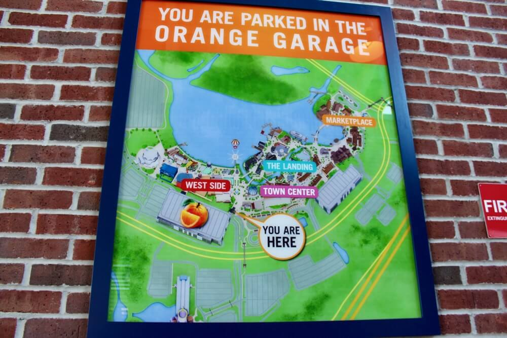 Disney Springs Tips - Downtown Disney Florida - Parking Garage