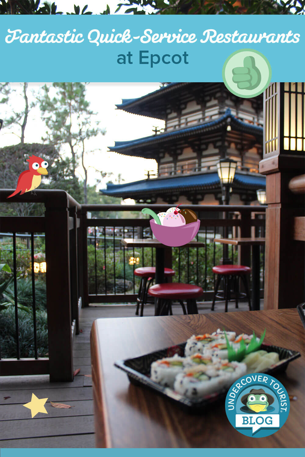 5 Fantastic Quick-Service Restaurants at Epcot