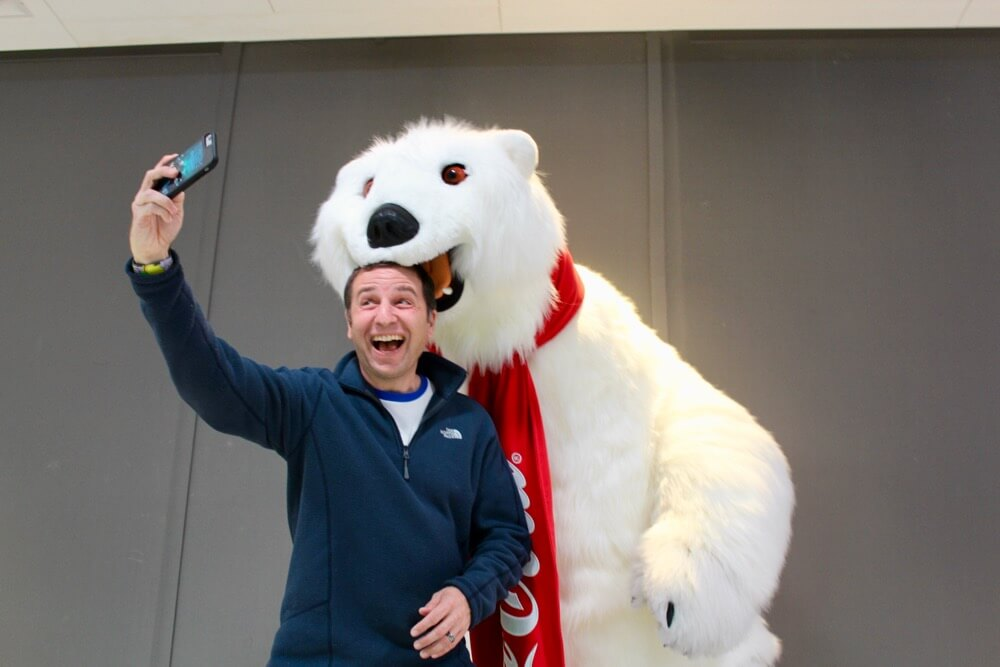 Disney Springs Tips - Downtown Disney Florida - Polar Bear Selfie
