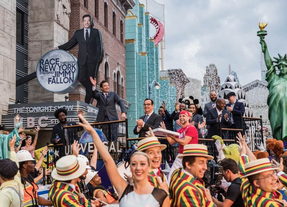 Race Through New York Starring Jimmy Fallon Opens at Universal Studios Florida