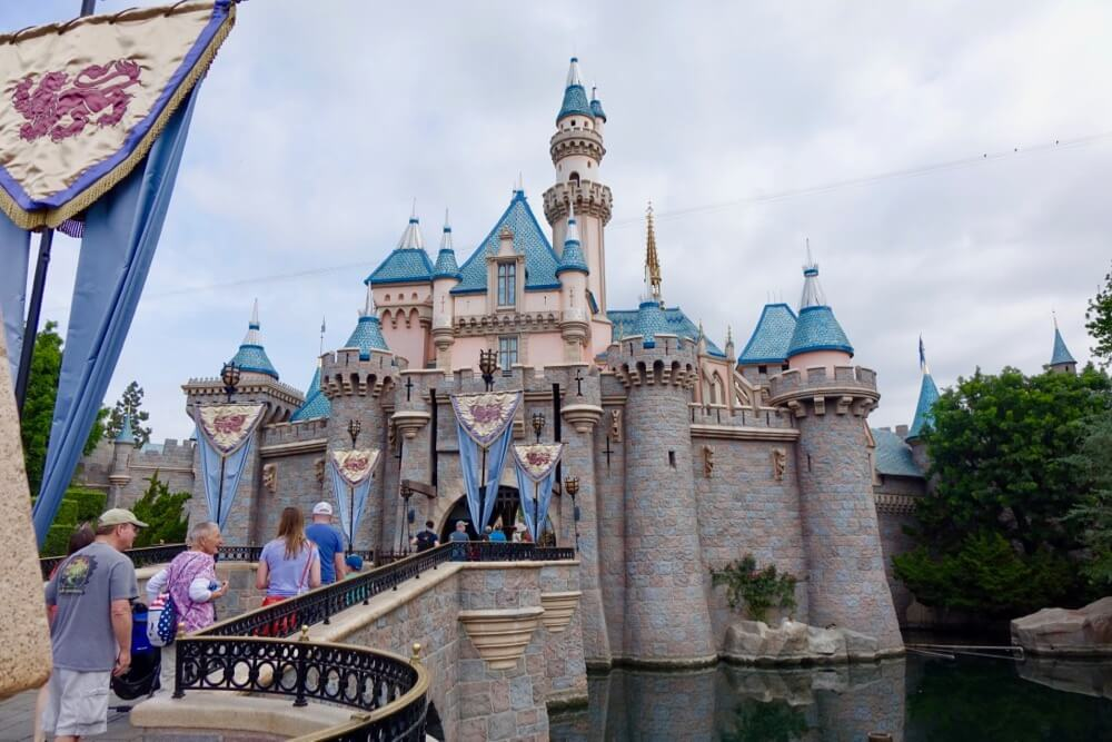 Tips for Managing Summer Crowds and Heat at Disneyland - Sleeping Beauty Castle