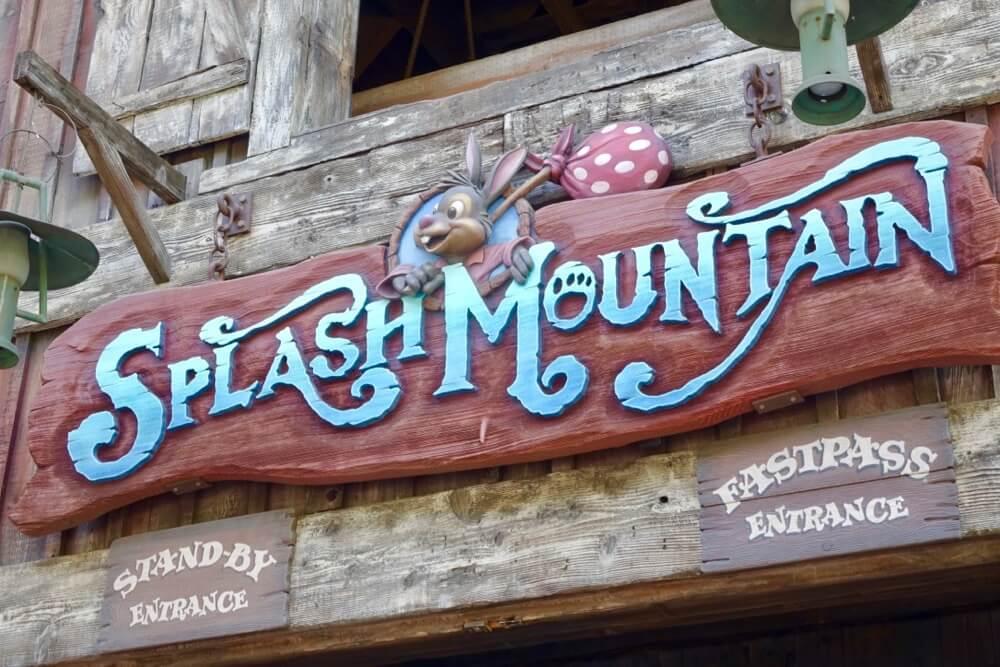 Tips for Managing Summer Crowds and Heat at Disneyland - Splash Mountain