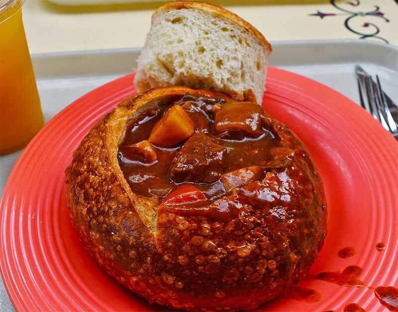 Disneyland Quick-Service Restaurants - Bread Bowl