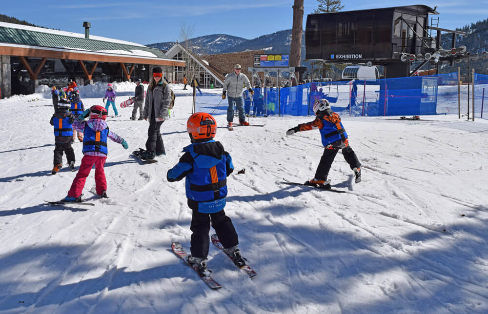 Squaw Valley Alpine Meadows Kids' Ski Lessons