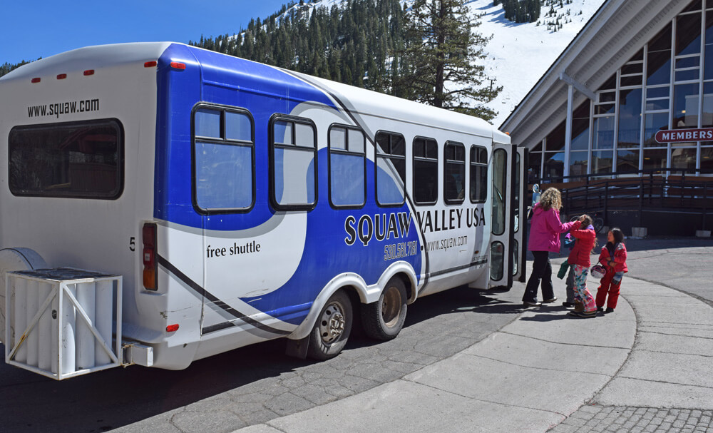 Squaw Valley Alpine Meadows Shuttle