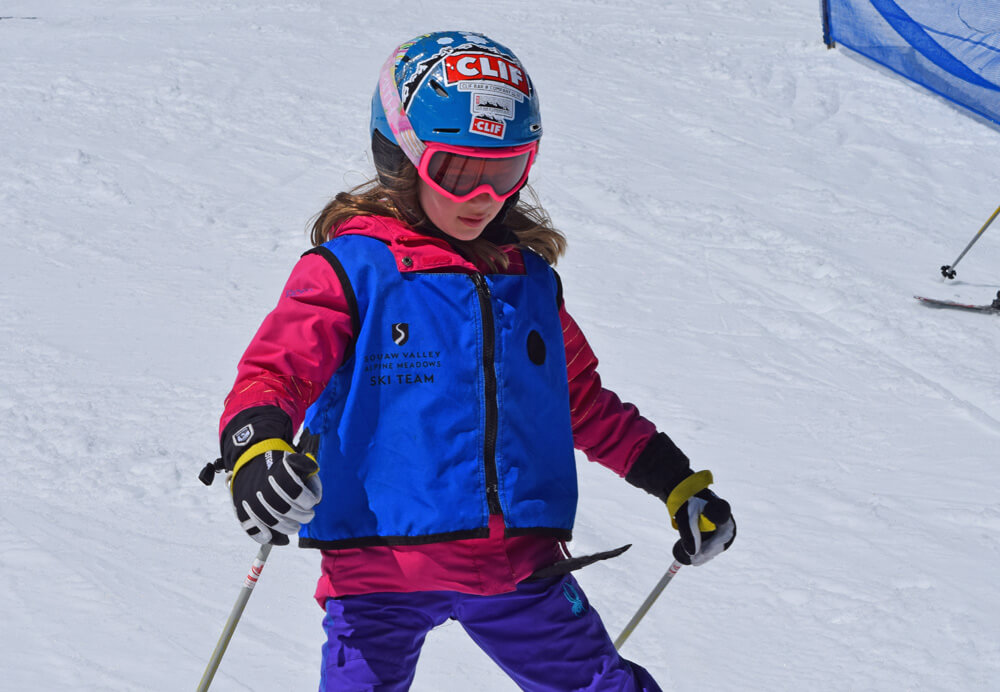 Squaw Valley Alpine Meadows Young Skier