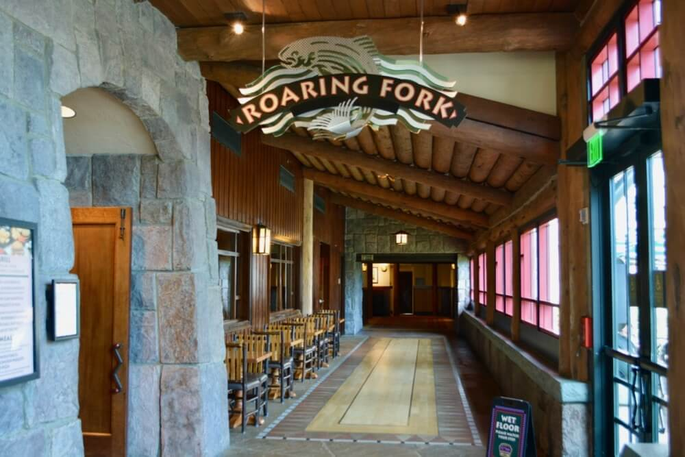Eating Gluten Free at Disney Springs & Disney World Resort Hotels - Roaring Fork at Wilderness Lodge