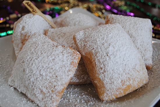 Sassagoula Floatworks Gluten Free Beignets - Port Orleans French Quarter - Eating Gluten Free at Disney Springs and the Disney World Resort Hotels