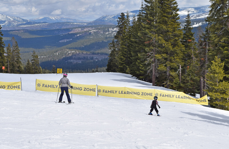 Northstar California Guide to Family Skiing