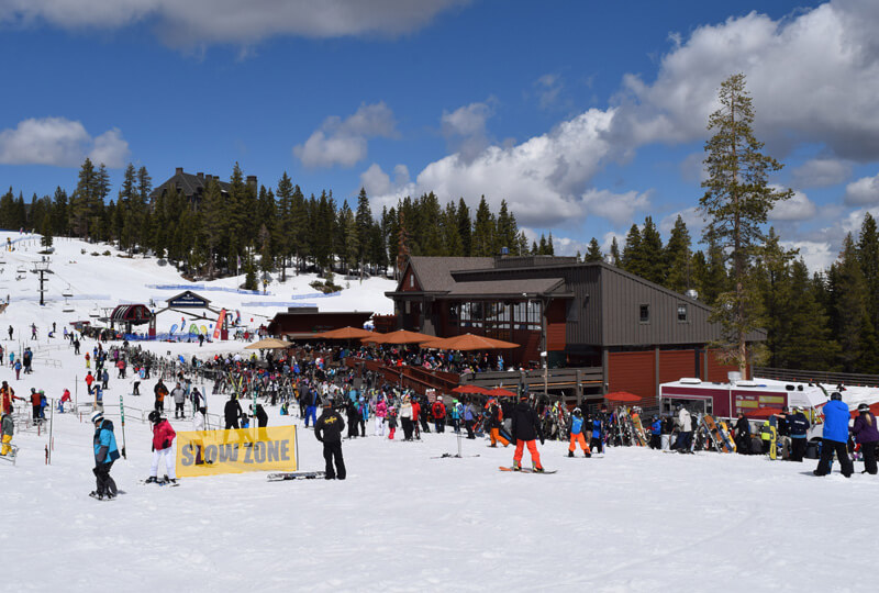 Northstar California Guide - Dining Mid-Mountain