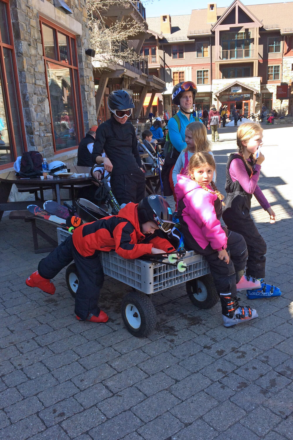 Northstar California Guide to Family Skiing - Wagons