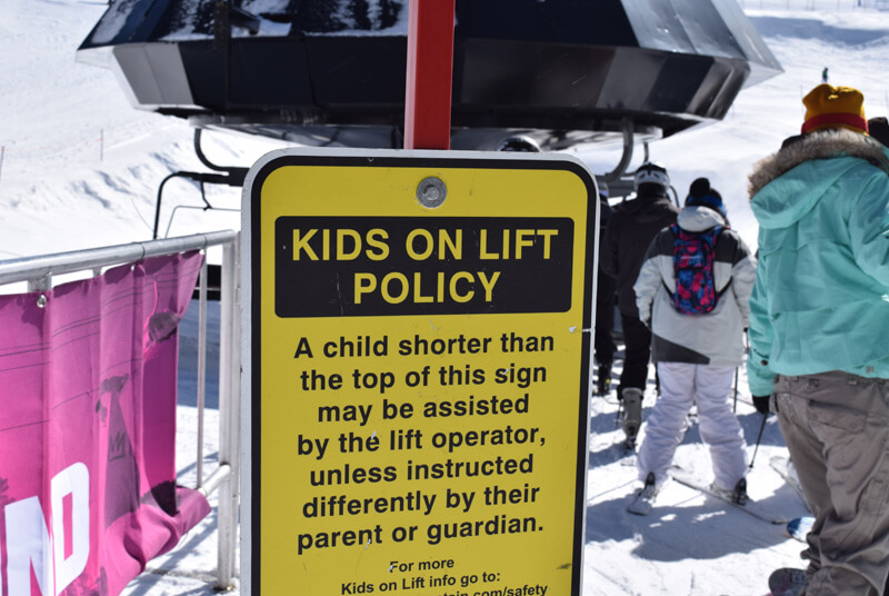 Family Ski Safety - Lift Policy