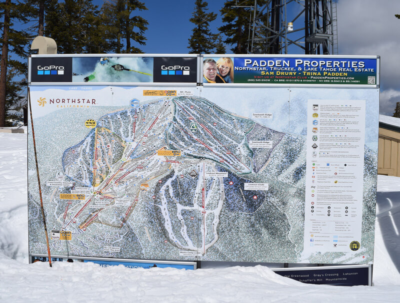 Family Ski Safety - Map