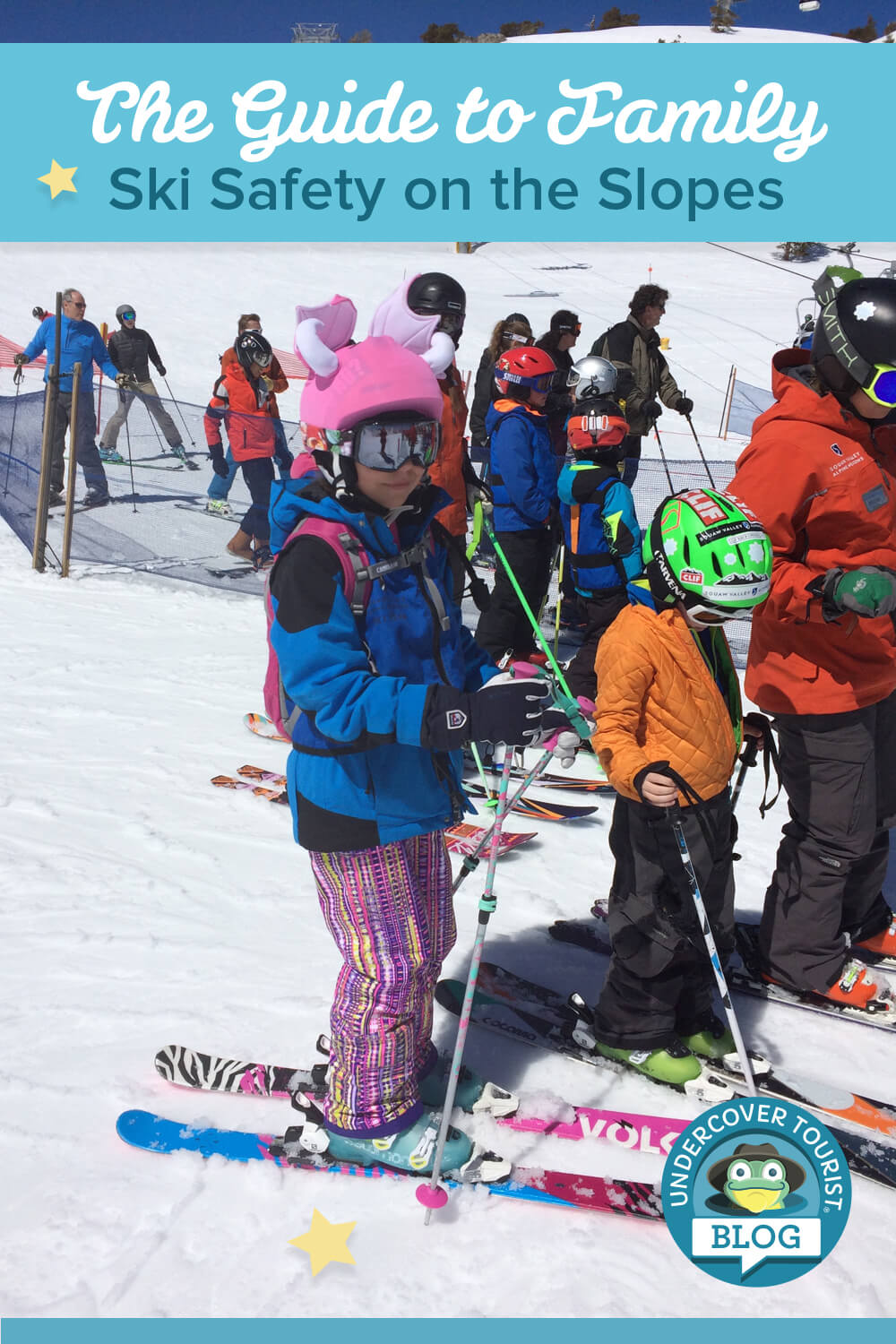 Guide to Family Ski Safety on the Slopes