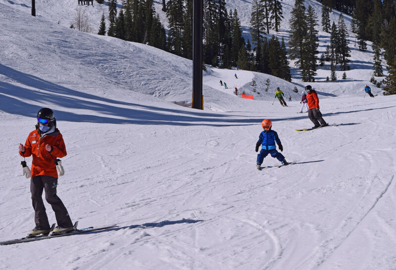 Family Ski Safety - Ski Lesson