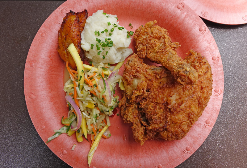 Universal Volcano Bay Restaurants - Fried Chicken