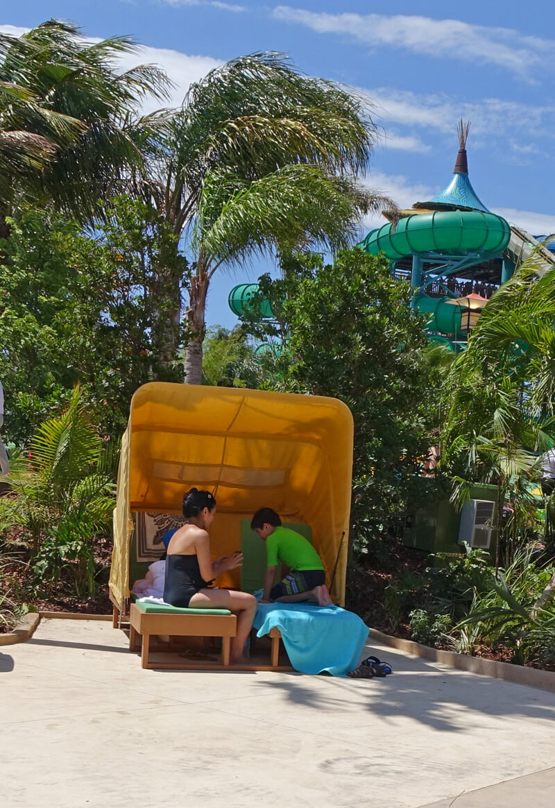 Universal Volcano Bay Premium Seating