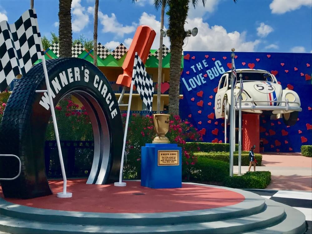 Disney World Value Resort Hotels - All Star Movies-Herbie