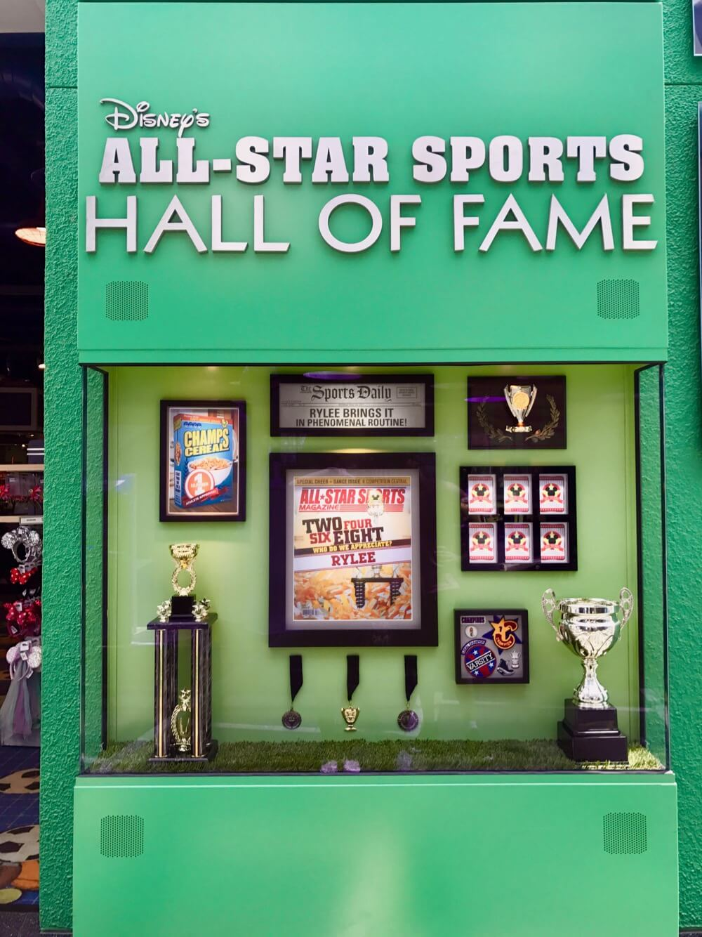 Disney World Value Resort Hotels - All Star Sports Hall of Fame