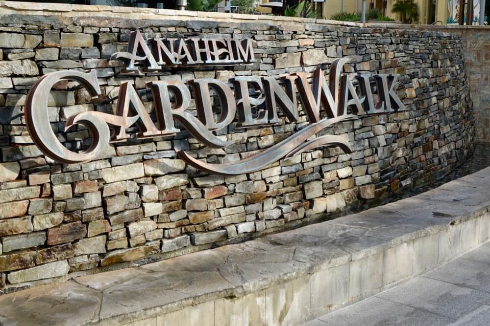 Hotels Around Disneyland - Anaheim Garden Walk