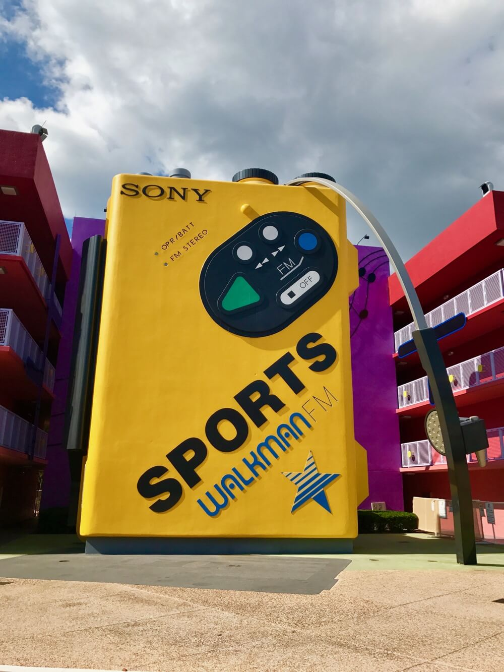 Disney World Value Resort Hotels - Pop Century - Walkman