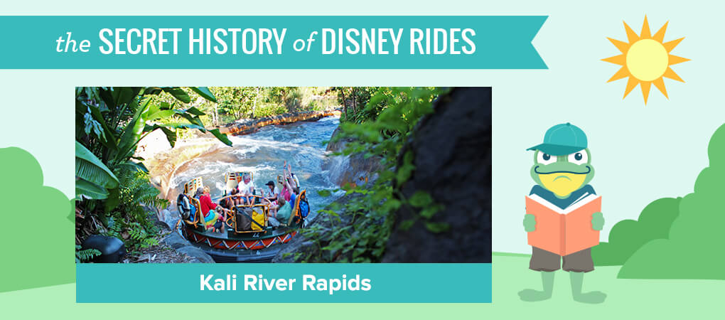 The Secret History of Disney Rides: Kali River Rapids