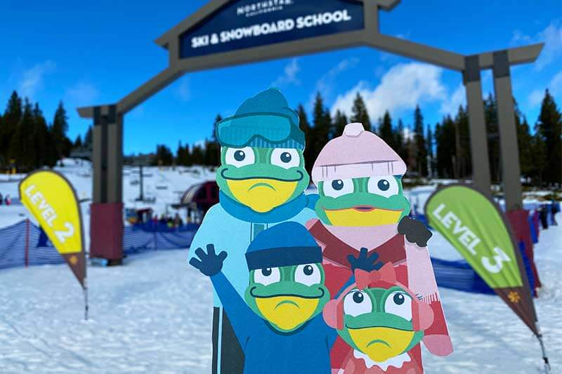 Frog Family Insider's Guide to Northstar Ski Resort