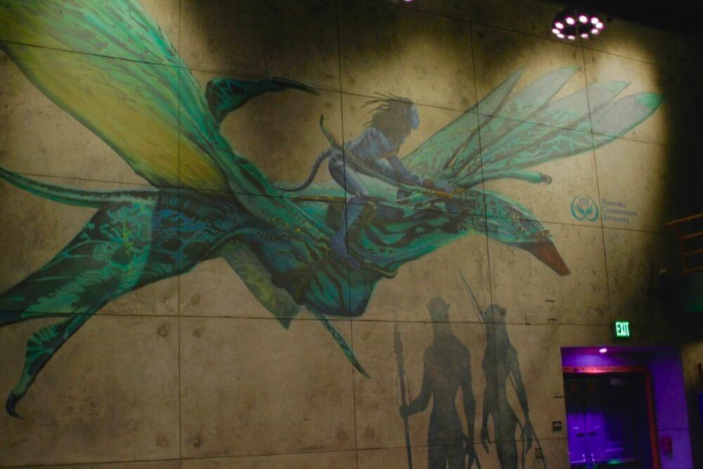 Pandora The World of Avatar - Flight of Passage Queue