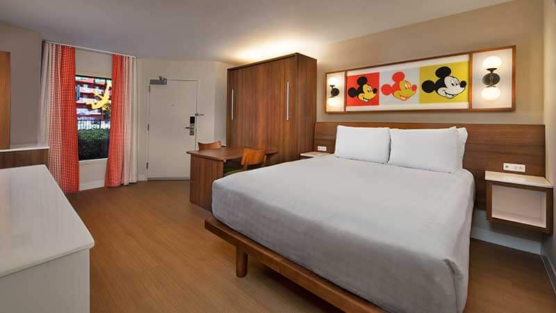 Disney World Value Resorts - Pop Century Refurbished Rooms